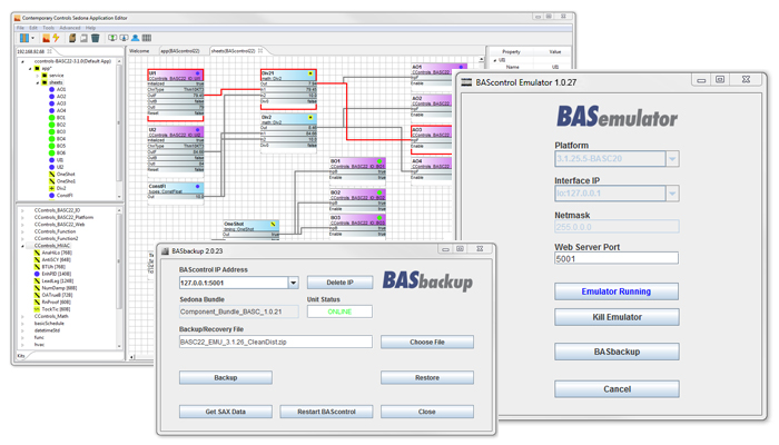 BAScontrol Programming Tools