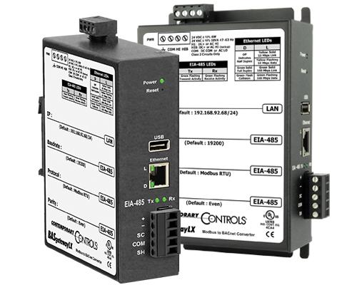 BASgatewayLX - Modbus to BACnet Gateway