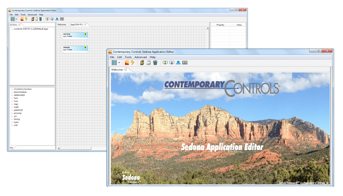 Sedona Application Editor